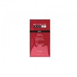 BeColor Crazy Farba do włosów w żelu czerwona 30 ml