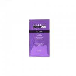 BeColor Crazy Farba do włosów w żelu fioletowa 30 ml