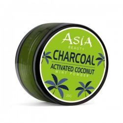 ASIA BEAUTY - aktywny węgiel kokosowy do wybielania zębów MINT 30g