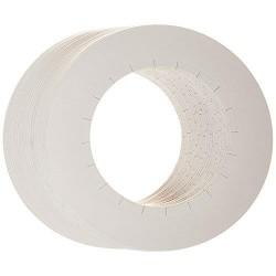 ERBEL Osłonka papierowa na puszkę wosku 10 szt