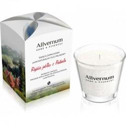 Allvernum - świeca zapachowa - Rajskie jabłko z Podhala z cynamonem