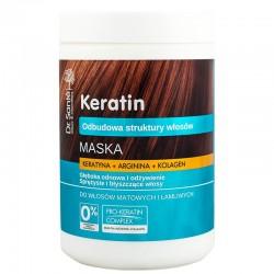 Dr. Santé Maska z keratyną, argininą, kolagenem do włosów matowych i łamliwych 1000 ml