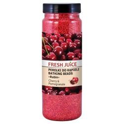 Fresh Juice Perełki do kąpieli Cherry & Pomegranate 450g