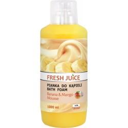 Fresh Juice PIanka do kąpieli Banan + Mus mango 1L
