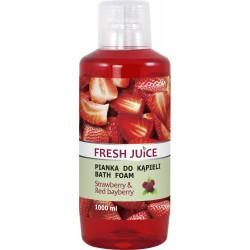 Fresh Juice Pianka do kąpieli Truskawka + Red Bayberry 1L