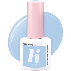 HI HYBRID LAKIER HYBRYDOWY #317 BLUE WHITE 5ML