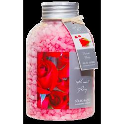 NATURAL AROMAS Sól do kąpieli Kwiat Róży 670g