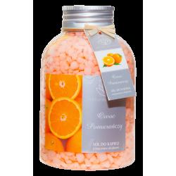 NATURAL AROMAS Sól do kąpieli Owoc Pomarańczy 670g