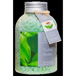 NATURAL AROMAS Sól do kąpieli Zielona Herbata 670g