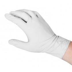 Rękawiczki lateksowe BEZPUDROWE XS, 100 szt