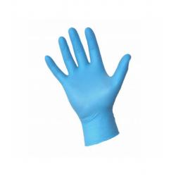 Rękawiczki nitrylowe bezpudrowe S 1 PARA NIEBIESKIE